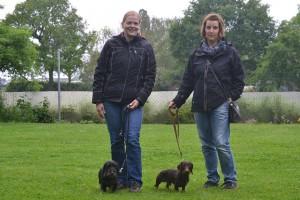 Alex mit Isas und Sabine mit Iwen
